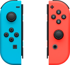 Nintendo Switch Joy-Con Pair Neon Red/Blue