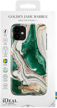 iDeal of Sweden Fashion Case iPhone XR/11 Golden Jade Marble
