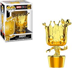 Funko POP Marvel - Baby Groot Chrome