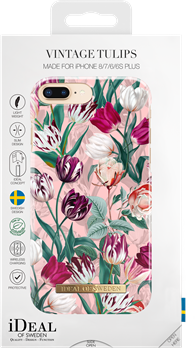 iDeal of Sweden Fashion Case iPhone 6/6S/7/8 Plus Vintage Tulips