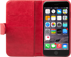 iZound Wallet Case iPhone 6 Red