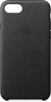 Apple Leather Case iPhone 7/8 Black