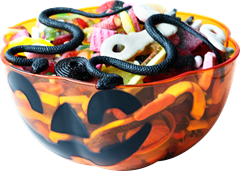 Halloween Candy Bowl Pumpkin