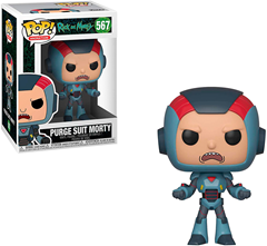Funko POP Rick & Morty - Morty Mech Suit