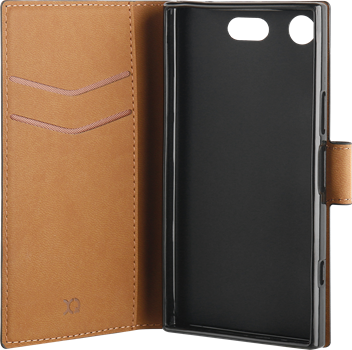 Xqisit Slim Wallet Selection Sony Xperia XZ1 Compact Black