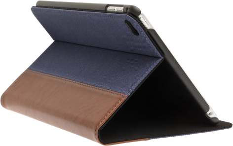 iZound Stand-case Fabric iPad mini 4 Blue/Brown