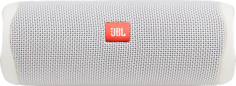JBL Flip 5 Portable Waterproof Speaker White