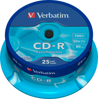 Verbatim CD-R 25-pack (CakeBox)